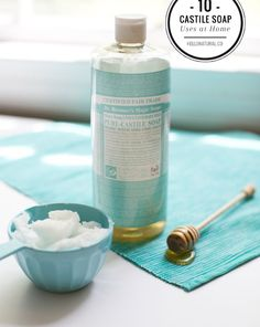 10 Household Products To Replace with Castile Soap