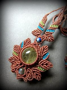 Collar Macrame, Macrame Colar, Macrame Earrings, Macrame Bag, Macrame Jewelry, Macrame Bracelets, Beaded Necklace, Loom Bracelets, Micro Macrame Tutorial