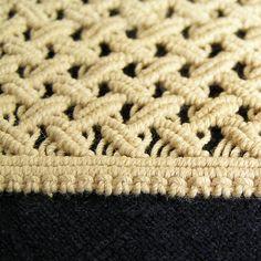 Vintage lace 1980s macrame makrame Handmade Vintage by MyWealth, $9.20