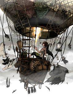 "steampunksteampunk: "" Source : The Art of Animation """