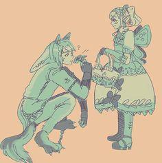 Wolf Link & Agitha