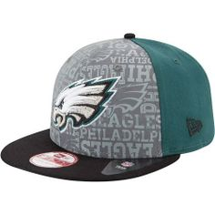 Philadelphia #Eagles 2014 New Era® 9FIFTY® Snapback Draft Hat. Click to order! - $29.99