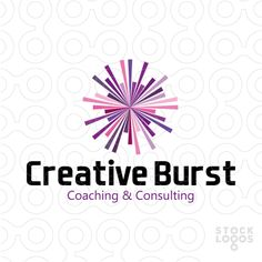 An abstract mark, which represents an explosion of energy and ideas. Purple colors are chosen on purpose, but can be changed easily according to your preferences. Logo can be used for various businesses, such as for example: application developer, communication company, business consulting, creative services, digital media, entertainment, gaming, high tech, internet network provider, marketing, media firm.