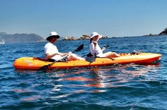 Kayaking Tour with Lunch in Acapulco Guided kayaking tour along Roqueta Island including lunch on the Caltia Beach.You will thoroughly enjoy our kayaking tour exploring and paddling in the beautiful waterssurroundingRoqueta Island, a little island in front of the famous Caleta, a romantic part in the old Acapulco. The tour takes about 3 hours and at the endyou will savor a meal on the Caletia beach. Theexperienced guides are helpful, kind, funny, and will give you a short ...