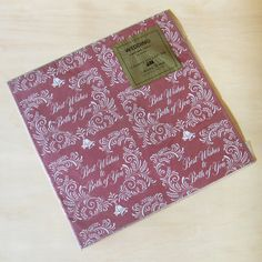 Vintage american greetings gift wrap a gorgeous gift wrap vintage american greetings best wishes gift wrap m4hsunfo