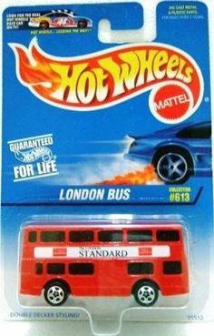 Hot Wheels 1997 #613 LONDON BUS by Mattel. $10.95. Perfect Hot Wheels Diecast…