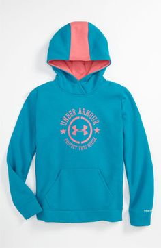 Under Armour  Speedy - Storm  ColdGear® Hoodie (Big Girls)  60d261ff2a