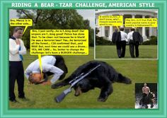 George Rospinus: Riding a bear - Tzar challenge, American style