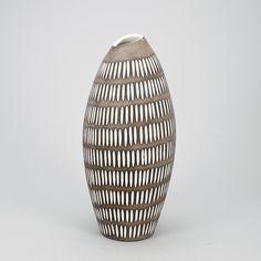 "VAS, keramik, ""Negro"", Ingrid Atterberg,"