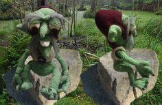 Häkelanleitung  Sumpf -Gnome von Queenies Krea-Shop auf DaWanda.com