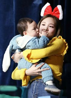Nayeon is an actual mom- South Korean Girls, Korean Girl Groups, Crazy Women, Twice Once, Nayeon Twice, Twice Kpop, Asian Babies, Dahyun, Im Nayeon