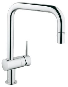 Grohe 32319 MintaWaterCare Dual Spray Pull Down Kitchen Faucet - 1.5 GPM