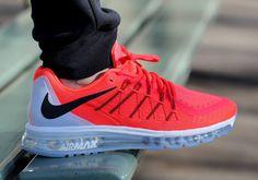 Nike Air Max 2015 - Bright Crimson - KicksOnFire.com