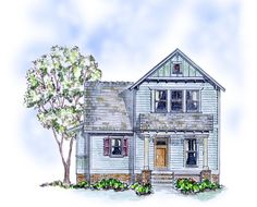 House Plan 56586 | Cottage Farmhouse Traditional Plan with 1429 Sq. Ft., 3 Bedrooms, 3 Bathrooms