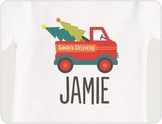 Personalized Christmas T Shirt for Kids