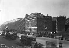 Fifth Avenue between Lenora and Blanchard during second Denny regrade, 1929