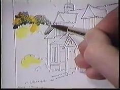 Loose watercolor Lesson Part 1