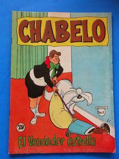 Las aventuras de Chabelo y sus cuates (El Vendedor Estrella) - 1962 - Primera versión del comic por editormex.