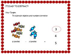 Mathematics is fun when learning materials are colorful and simple. We created an worksheet for you about subtraction in activity form. You can give this to your child while learning at home. Kindergarten Math Worksheets, Mathematics, Make It Simple, Activities, Learning, Free, Math, Studying, Teaching