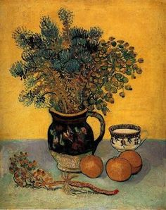Vincent Van Gogh, Majolica Jar with Wild Flowers