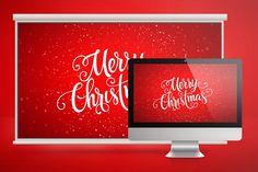 Merry Christmas Church Slide by Godserv Graphics on @creativemarket
