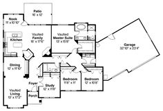 2344 sq ft. three bedrooms with study/office, three car garage. Good storage space.