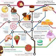 Circle Line Food Crawl! London Map, Foodies