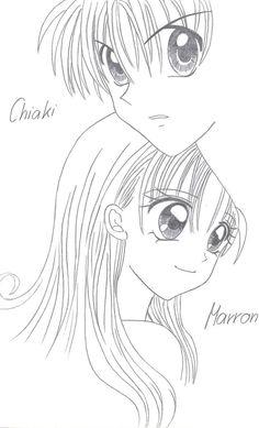 Maron and Chiaki by Haine01.deviantart.com on @deviantART