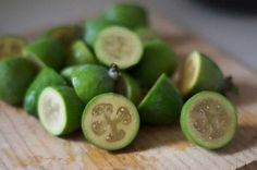 Feijoa recipes - muffins, smoothies, chutney etc.