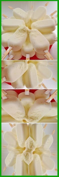 Cómo hacer HELADO CASERO DE LECHE EN POLVO. #leche #polvo #helados #comohacer #dessertrecipes #dessert #frutas #yogur #postres #cakes #comohacer #lomejor #masa #bread #breadrecipe #pan #panfrances #panettone #panes #pantone #pan #receta #recipe #casero #torta #tartas #pastel #nestlecocina #bizcocho #bizcochuelo #tasty #cocina #chocolate Si te gusta dinos HOLA y dale a Me Gusta MIREN … Sorbet Ice Cream, Ice Cream Pies, Frozen Desserts, Summer Desserts, Paleo Dessert, Dessert Recipes, Bien Tasty, Sorbets, Crazy Cakes