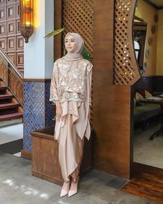 Hijab Prom Dress, Hijab Gown, Kebaya Hijab, Muslimah Wedding Dress, Dress Brokat Muslim, Kebaya Muslim, Muslim Dress, Kebaya Lace, Kebaya Dress