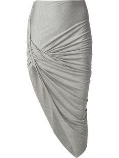 Helmut Lang Asymmetric Skirt - Mcmarket Monaco - Farfetch.com