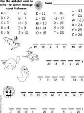 Halloween abc code