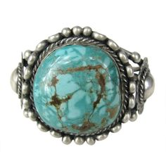 Preowned Navajo Native American Sterling Silver Turquoise Bracelet... (18.289.810 IDR) ❤ liked on Polyvore featuring jewelry, bracelets, cuff bracelets, grey, navajo turquoise jewelry, hinged cuff bracelet, native american turquoise jewelry, cuff bangle and turquoise bangle