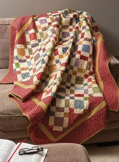 Autumn Song Quilt Pattern Download