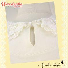 franche lippee 花邊背心  US$120.47  Wardrobe@LifeZakka