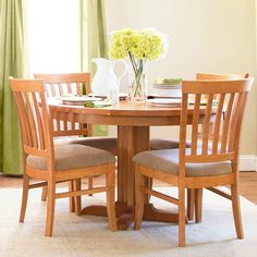 Our Cherry Wood Bistro Dining Chairs Are Handmade In Vermont Using Sustainably Harvested Natural Woods