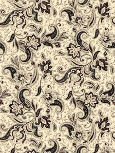 Quilting Treasures-Waverly Imperial-Paisley/Blk - 23916-J