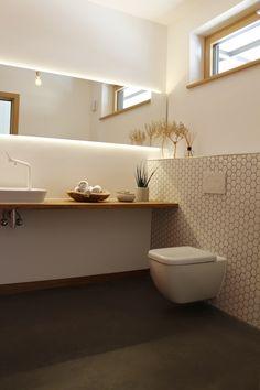 Waschtisch auf Eichenplatte www.bender-architektur.de