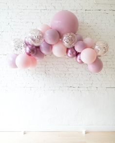 Shades of Mauve Palette Floating Arch - Small — Paris312 Mauve, Arch, Palette, Elegant Bridal Shower, Shades, Party Signs, Perfect Party, Biodegradable Products, Photo Booth