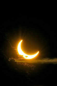 Astronomy & Astrophysics — Solar Eclipse of 2011 by: Tomas Johansson Moon Moon, Sun Moon Stars, Moon Art, Luna Moon, Shoot The Moon, Moon Pictures, Moon Pics, Nature Pictures, Beautiful Pictures