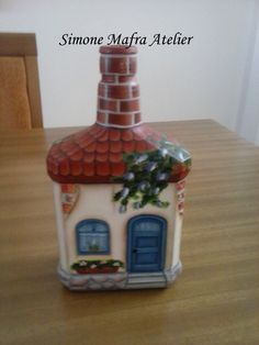 Crafts With Glass Jars, Wine Bottle Crafts, Bottle Painting, Bottle Art, Glass Bottle, Shabby Chic Jars, Clay Jar, Glitter Houses, Bottles And Jars