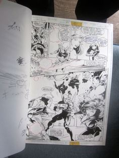 Original Comic Art XenoBrood Issue 6 Page 8 DC Comics 1995  Chris Hunter