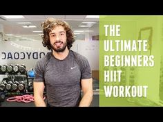 Ultimate Beginners HIIT Workout | The Body Coach - YouTube