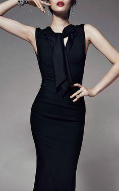 【Zac Posen】Satin Back Crepe Sleeveless Dress $1,990