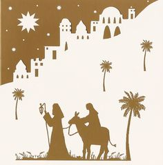 free silhoutte nativity scene patterns nativity