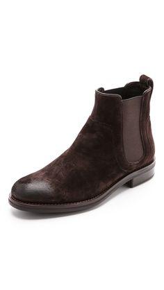 Vince Connor Suede Chelsea Boots