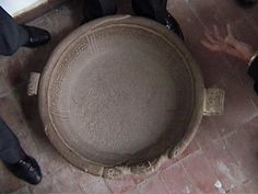 It is a large stone vessel, resembling a libation bowl, possibly used for religious ceremonies.It was found in the by a farmer in the neighbourhood of Tiwanaku and has since been authenticated. Ancient Mysteries, Ancient Artifacts, Ancient Aliens, Ancient History, Out Of Place Artifacts, Unexplained Phenomena, Rosetta Stone, Archaeological Discoveries, Tiwanaku