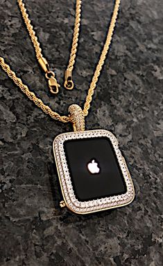 Apple Watch Series, Apple Watch Bands, 10 Year Old Gifts, Apple Watch Accessories, Jewelry Box, Unique Jewelry, Lab Diamonds, Dog Tag Necklace, Bling