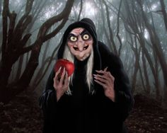 Fan Art of Realistic Old Hag for fans of Snow White and the Seven Dwarfs. A realistic depiction of the Old Hag from Snow White.